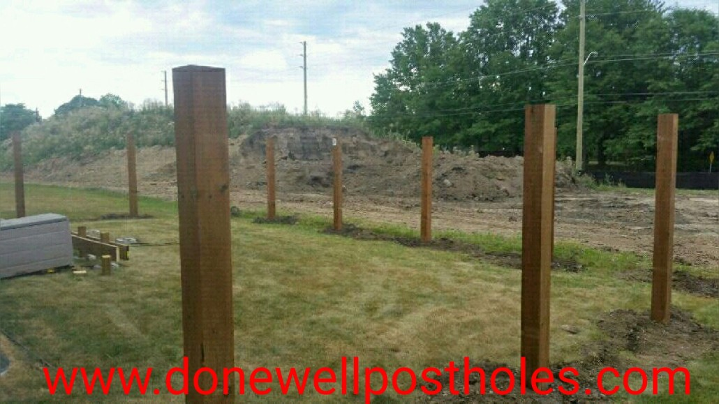 DoneWell PostHoles | Post Holes
